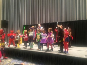 Kids Costume Parade Participants